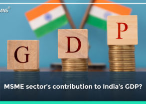 MSME sector's contribution to India's GDP?