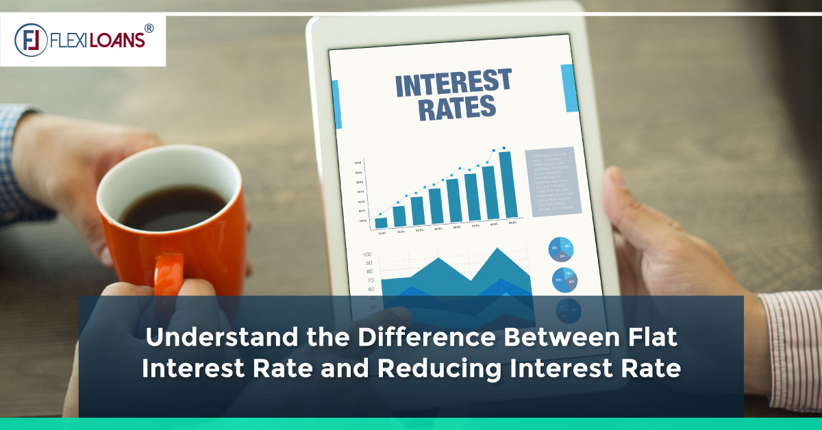 Flat Rate v/s Reducing Interest Rate